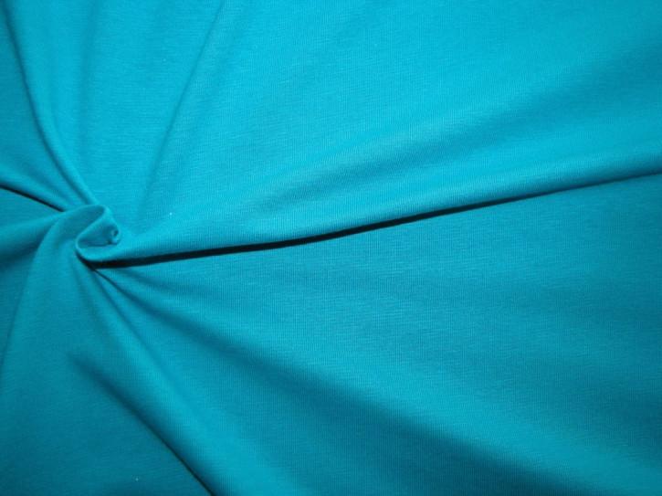1m Fein-Jersey in arizona-blau/türkis-blau Fb0692