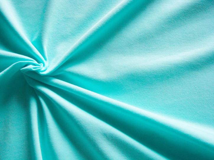 1m Fein-Jersey in hellem pool-blau/wasserblau Fb0409
