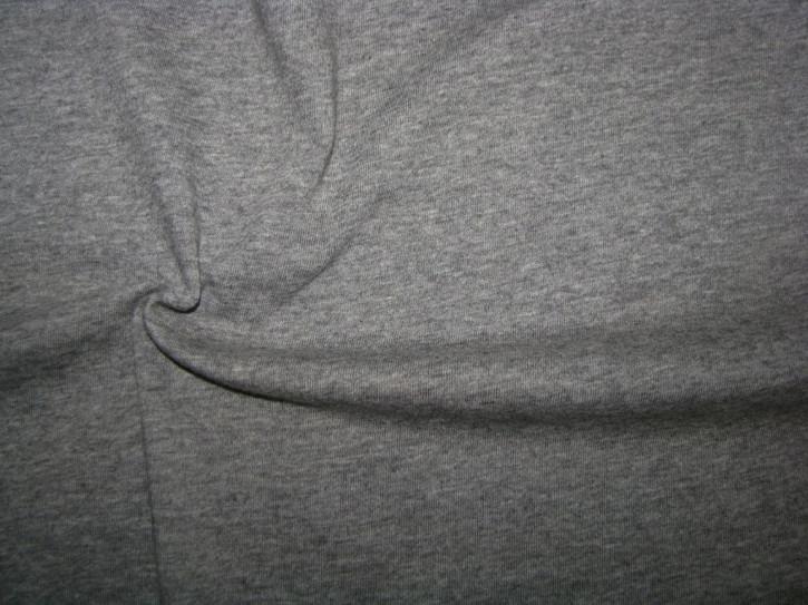 1m Fein-Jersey in stahl-grau Fb0878 meliert