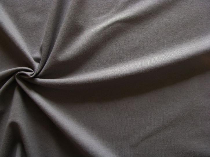 1m Fein-Jersey in dunklem grau Fb0343