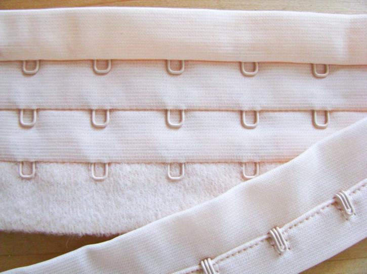 1m Korsagenverschuss in pastell-melba Fb0134