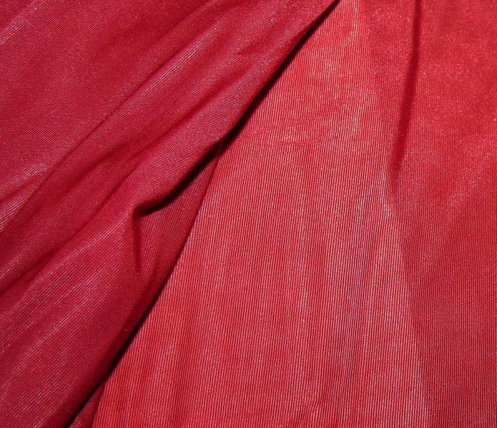 """Elastisches, glänzendes """"Tüll""""-Netz in kirsch-rot Fb0629"""