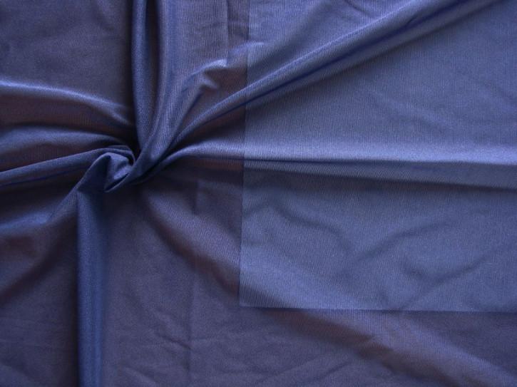 Bi-elastischer, feiner Tüll in indigo-blau Fb0800