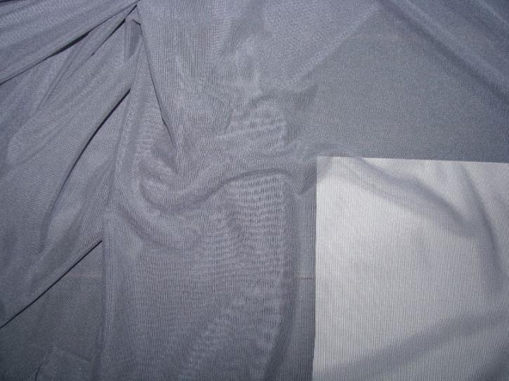 Bi-elastischer, feiner Tüll in bleigrau Fb0852
