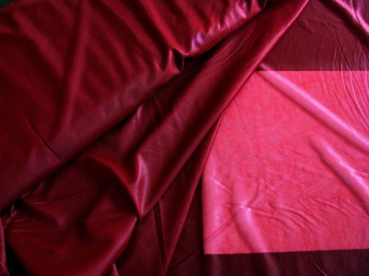 1m zarte Futter-Charmeuse in burgund Fb0109