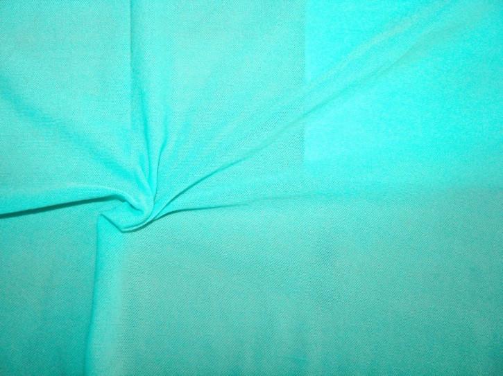 1m bi-elastisches, feines Netz in pool/türkis-blau Fb0409