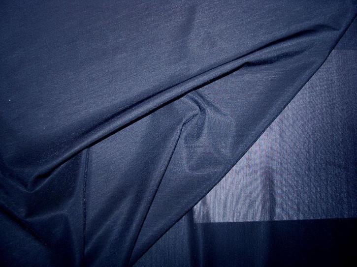 Bi-elastischer Wäschetüll in glänzendem, d. marine-blau Fb0825
