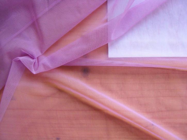1m bi-elastischer Tüll in orchidee/zyklame Fb0057