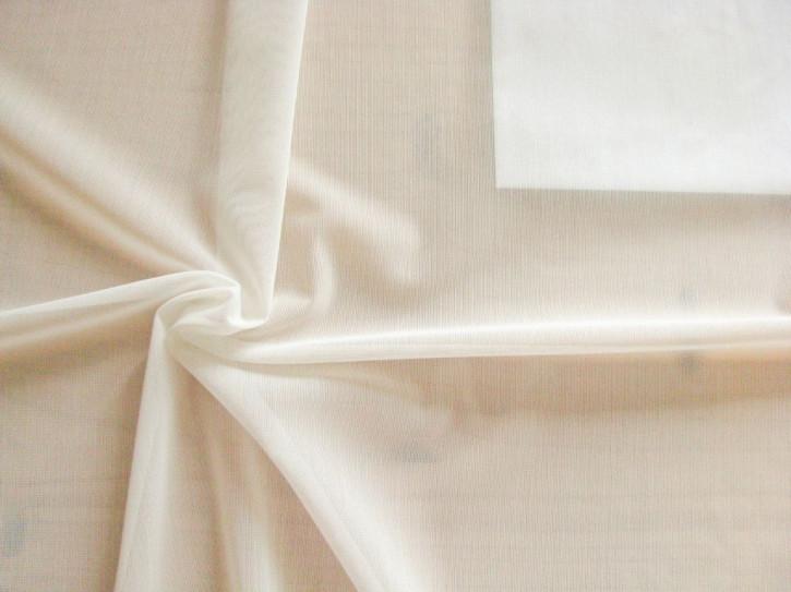 Bi-elastischer, feines Netzgewebe in perl-weiß/h.creme Fb1000