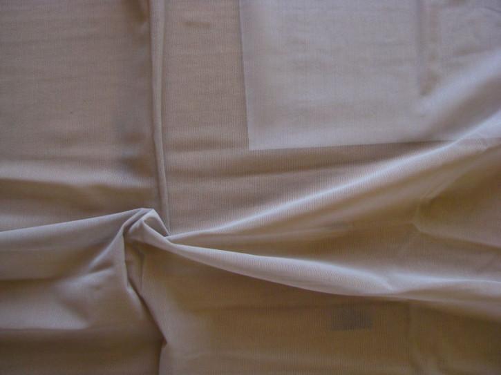 1m bi-elastischer Wäschetüll in coffee-sugar/Richtung h.taupe Fb1230