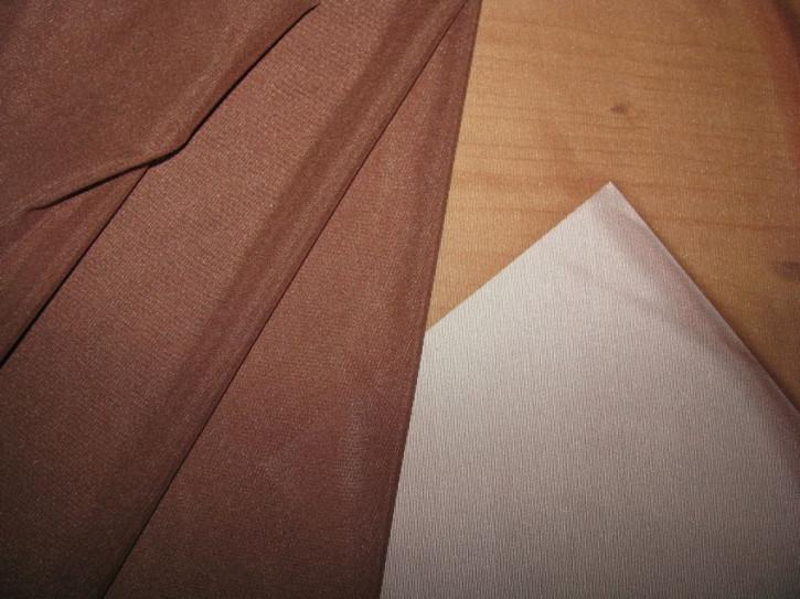Bi-elastischer Tüll in ebenholz-braun Fb0833