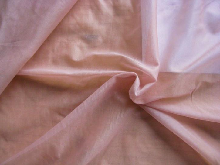 zarte Futter-Charmeuse in pudrigem rosè Fb0156