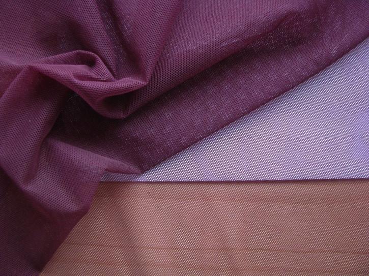 1m bi-elastischer Wäschetüll in aubergine Fb0160