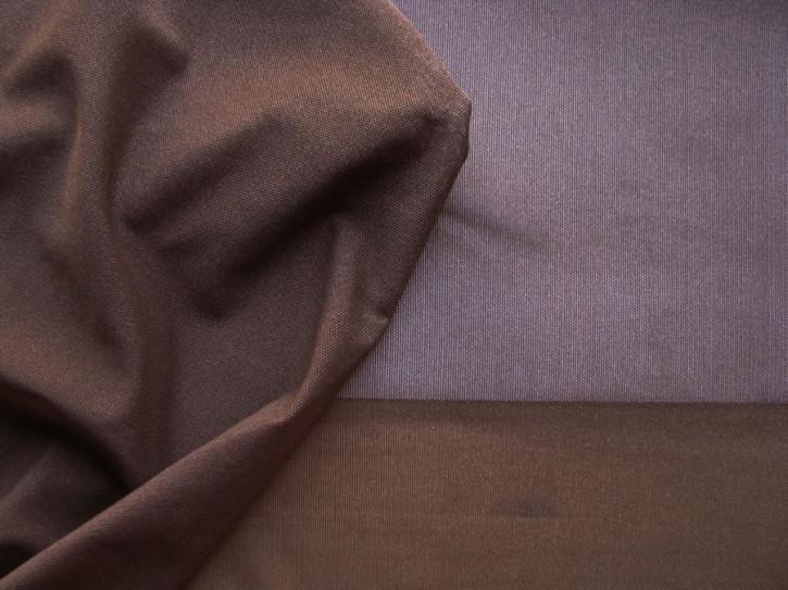 1m bi-elastischer Wäschetüll in dunklem schoko-braun Fb0428