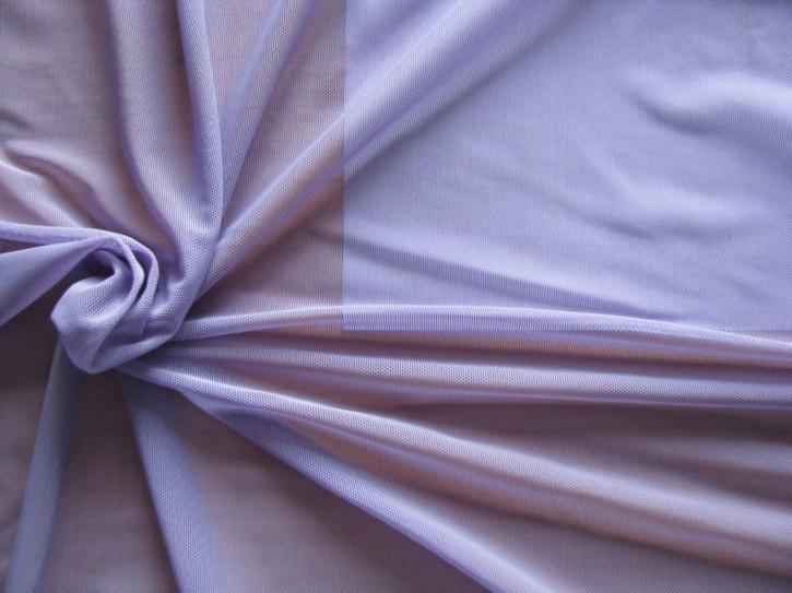 1m bi-elastischer Wäschetüll in hellem milka-lila/anemone Fb1085