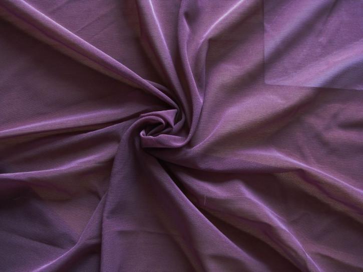 Bi-elastischer, feiner Tüll in hollunder Fb0578