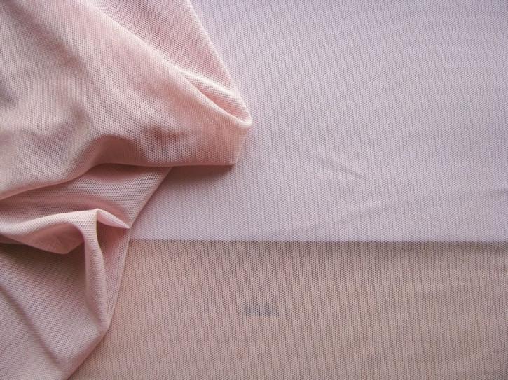 1m bi-elastischer Wäschetüll in puder-rosa Fb1063