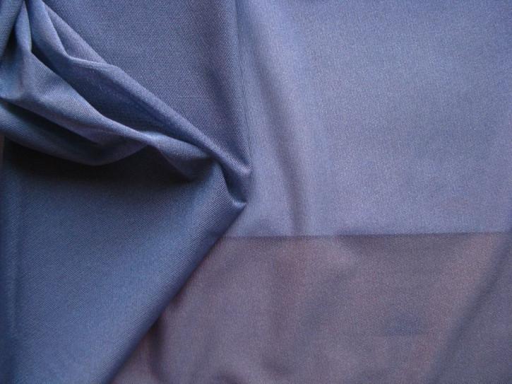 1m bi-elastischer Wäschetüll in jeans-blau Fb1467