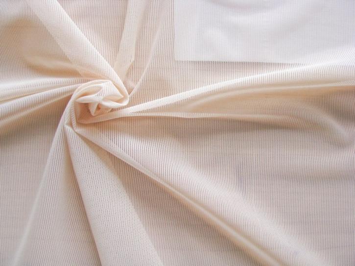 bi-elastisches Netzgewebe in skin/porzellan Fb3518