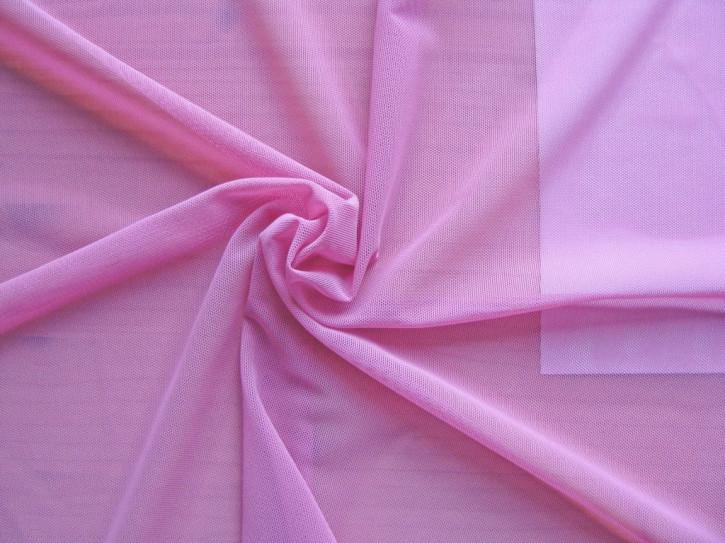 1m bi-elastischer Wäschetüll in pink/zuckerl-rosa Fb1423