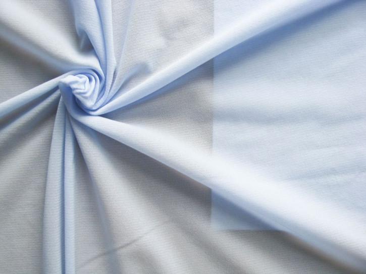 1m elastisches, hochwertiges Badefutter in baby-blau Fb0818