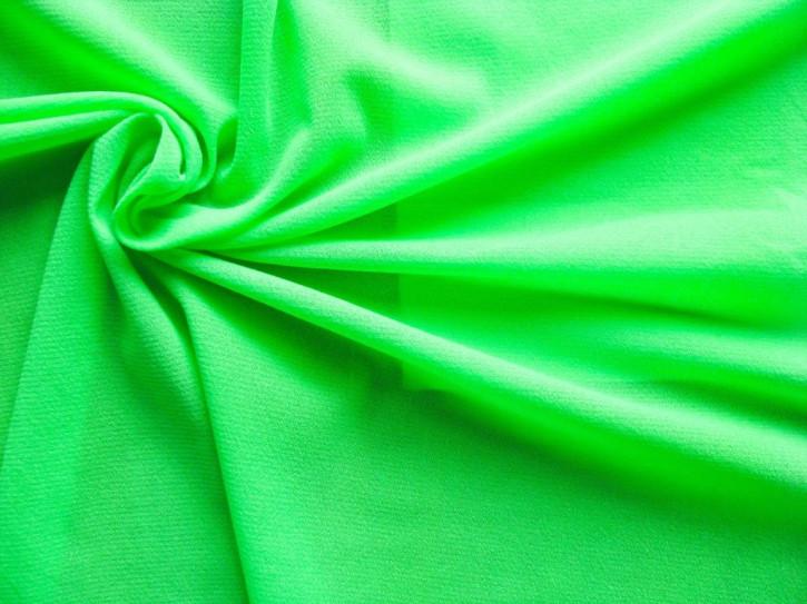1m elastisches, hochwertiges Badefutter in neon-grün Fb1309