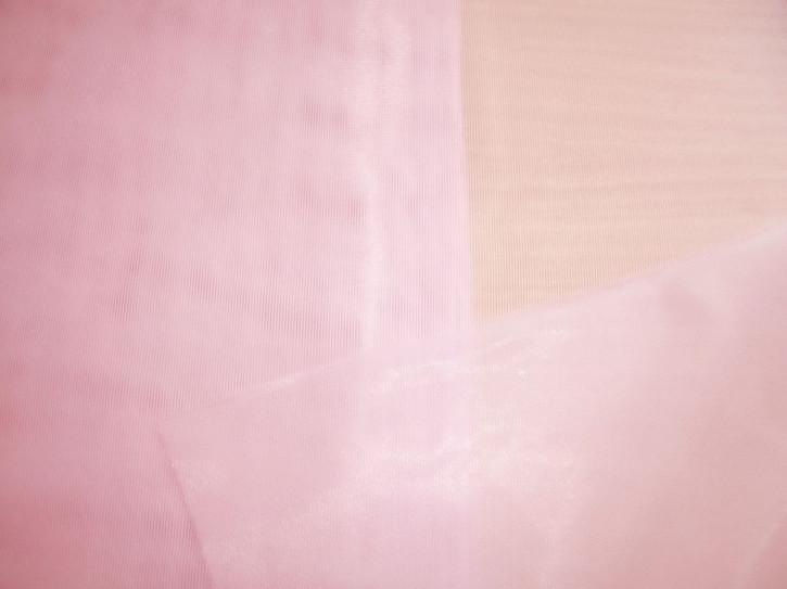 1m Charmeuse unelastisch in puder-rosa Fb0156