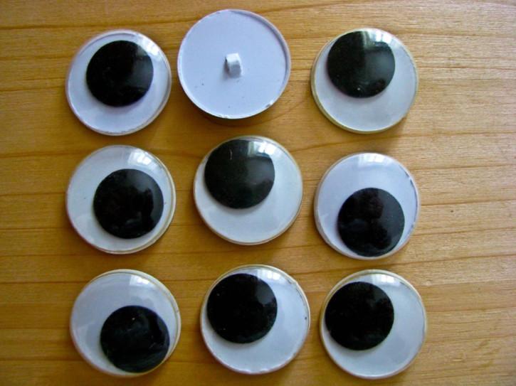 10 Stk. Wackel-Augen 25mm