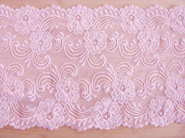 1m elastische Spitze in rosa Fb0082