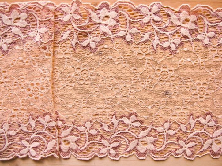 "1m elastische Spitze ""Blossom of Mandarin"""