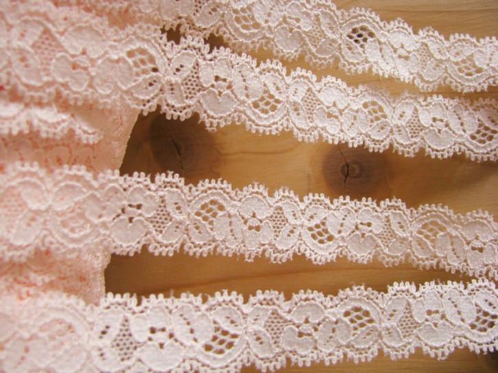 3m elastische Abschluss-Spitze in pfrisichblüte Fb0081