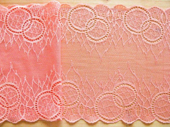 1m elastische Spitze in heller melone Fb1402