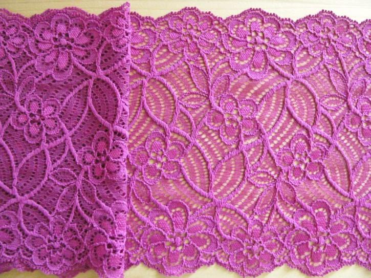 1m elastische Spitze in purple Fb1059