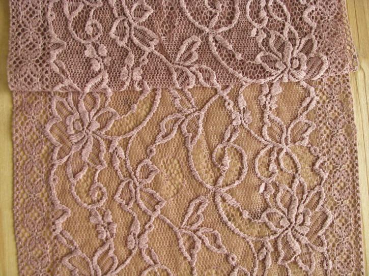 1m elastische Spitze in h.rosenholz Fb0284