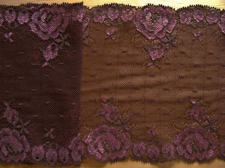 "1m elastische Spitze ""Laces of Chocolate"""