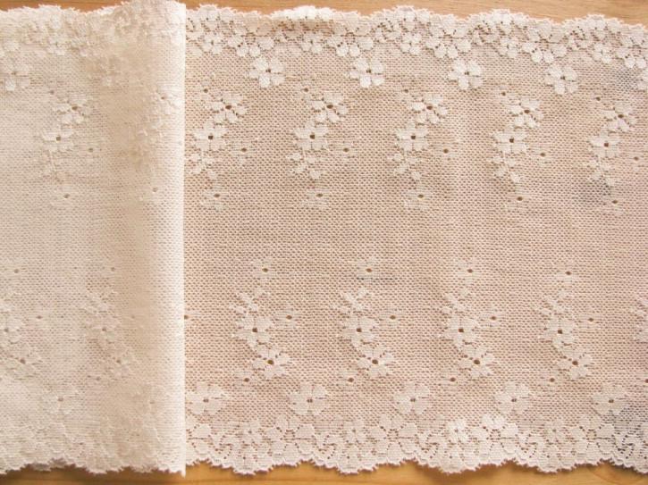 1m elastische Spitze in vanille Fb1161