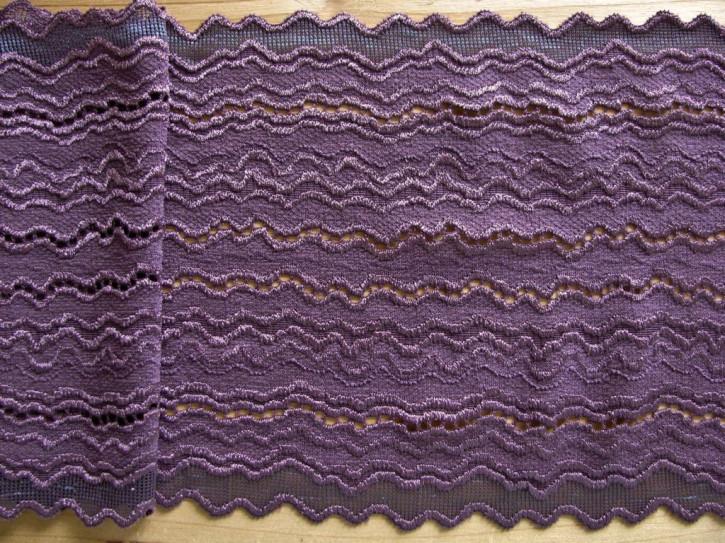 "1m elastische Spitze ""Waves of violett"""