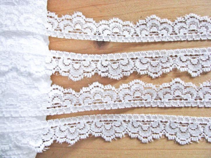 3m elastische Abschluss-Spitze in rein-weiß Fb4000
