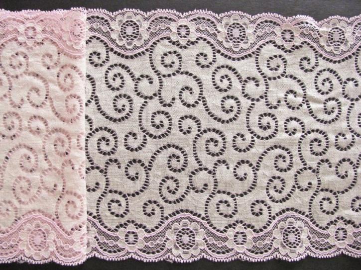1m elastische Spitze in baby-rosa...Fb1056