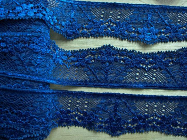 2m elastische Spitze in marine-blau Fb1305