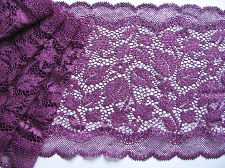 1m elastische Spitze in holunder/d.rot-violett Fb0060