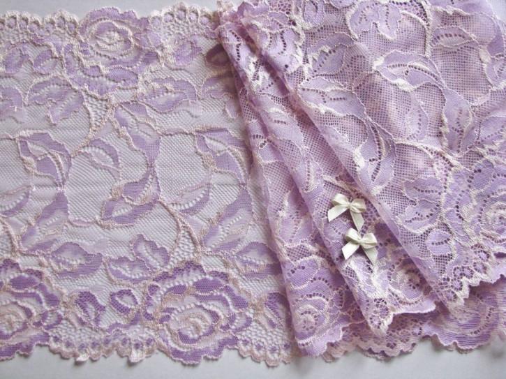 """1m elastische XL-Spitze """"Lilac Dreams"""""""