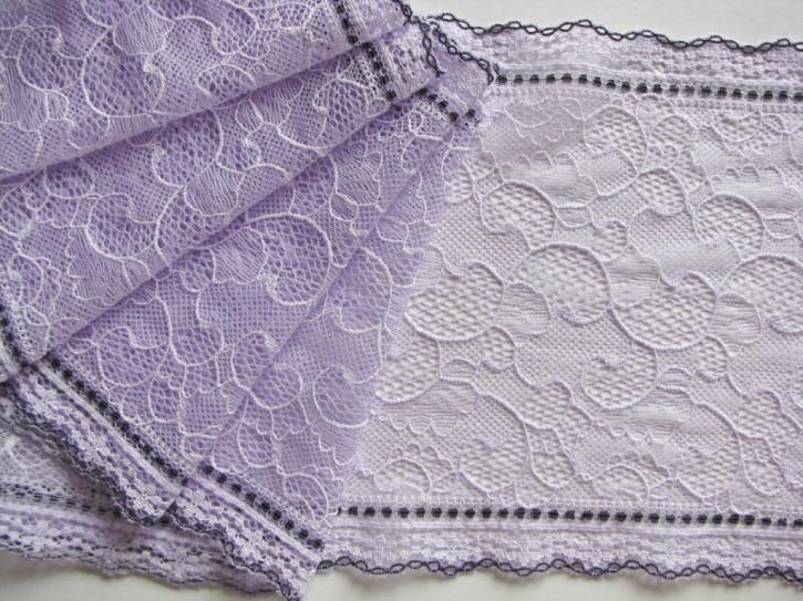 "1m elastische Spitze ""Summer Lilac"""