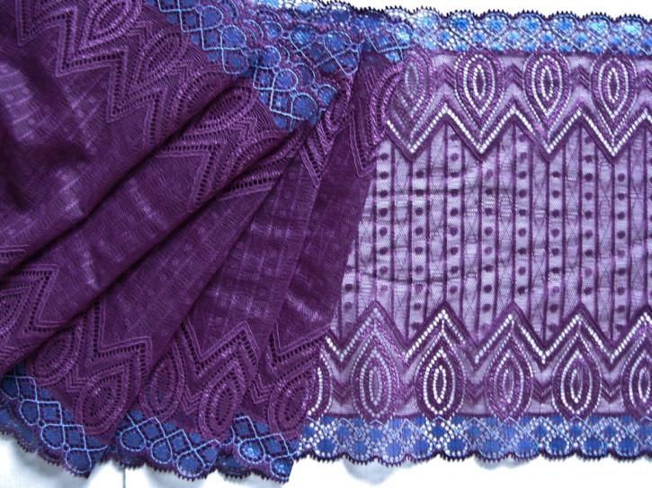 "1m elastische XL-Spitze ""Violet purple"""