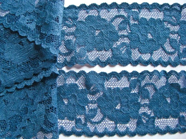 1m elastische Spitze in quellen-blau/Richtung jeans-blau Fb0583