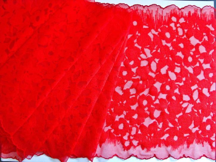 1m elastische XL-Spitze in hot-rot Fb0503
