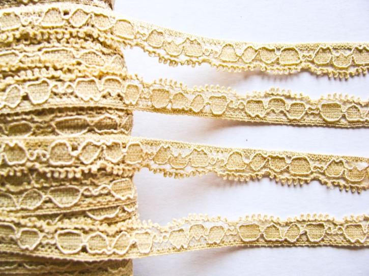 3m elastische Abschluss-Spitze in weizen-gold Fb0891