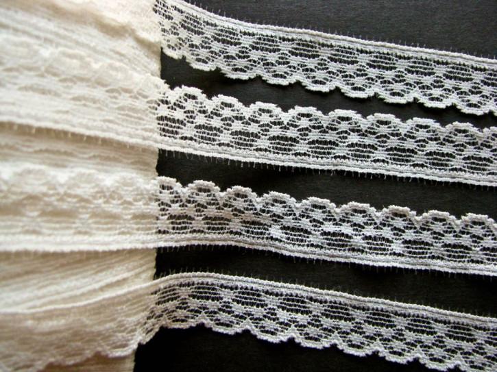 3m elastische Abschluss-Spitze in off-white Fb1000