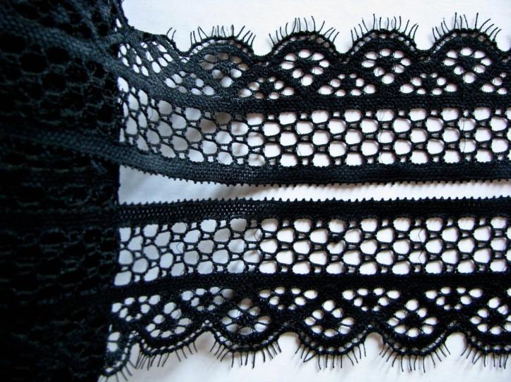 2m elastische Spitze in schwarz Fb4000