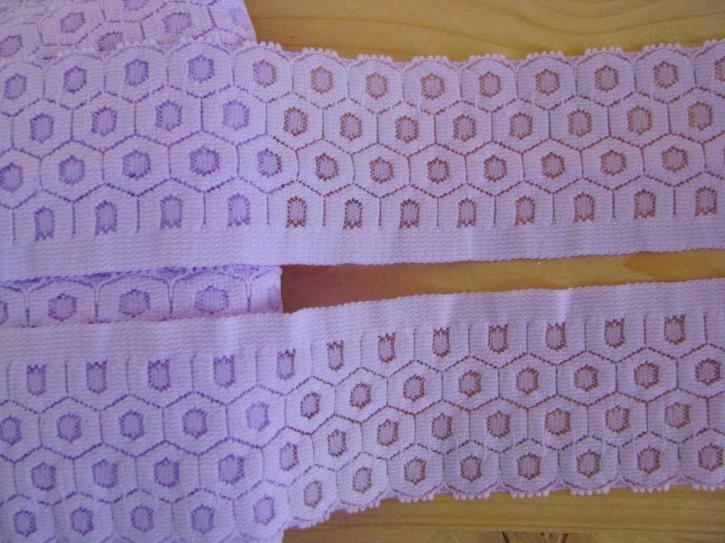 1m elastische Spitze in flieder Fb0009
